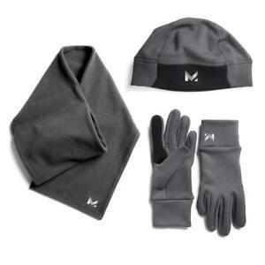 Mission Womens Radiantactive Running Beanie / Scarf / Glove Set Medium/Large