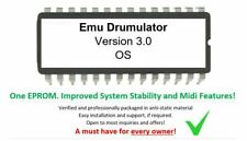 Emu Drumulator - Versión 3.0 Firmware OS Upgrade [ Midi Implementation Update]