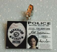 Resident Evil ID Badge-Raccoon Police Jill Valentine prop costume cosplay
