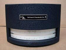 RARE Vintage Labratory AC Ammeter Mirror Scale Taut Band Hallmark Standards NICE