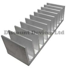 40x124x35mm Aluminium Heatsink Power Amplifier/Supply/ Transistor/IC/FET/PA