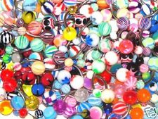 Wholesale 25 X Belly Button Bars Lot Navel Ring Piercingnew (D40)