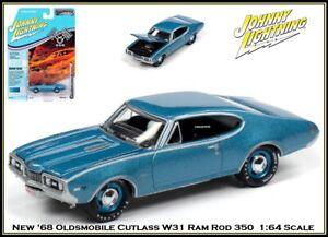 Johnny Lightning New '68 Oldsmobile Cutlass W31 Ram Rod 1/64th Diecast Car
