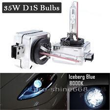 2PCS D1S 8000k Ice Blue OEM HID Xenon Headlight Replacement Light Bulbs Lamp PQ