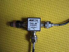 3 dB Verteiler MACOM THV-50 N Anschlüsse. 2-200 MHz