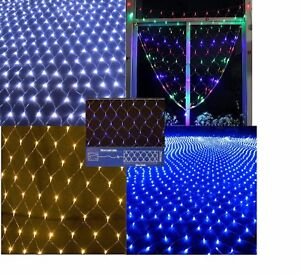 180LED Net Lights Battery Operated with Timer Indoor Outdoor Christmas Wedding