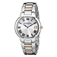 Raymond Weil Women's Watch Jasmine Silver Dial Two Tone Bracelet 5235-S5-01659