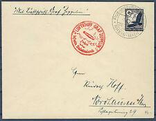 Zeppelinbrief Sudetenlandfahrt 1. 12. 38 mit DR 537x (540023)