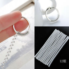 12pcs Ring Size Adjuster Tightener Reducer Resizing Fitter Insert Guard Useful