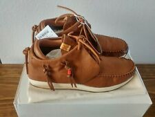VISVIM FBT Red Deer Brown Moccasin Sneakers Sz EU 43 | US 10