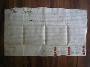 1796 INDENTURE on VELLUM, 12 WAX SEALS..Phila. PA...15 Signtures..24'' x 14''