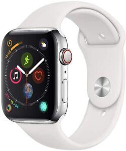 Apple Watch Series 4 GPS 44mm Cassa in Alluminio e Ceramica SILVER AB