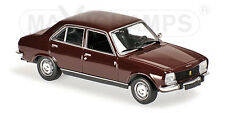 Minichamps 940112500  - PEUGEOT 504 - 1970 - DARK RED  1/43