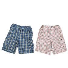 Hanna Andersson Shorts Lot Boys Size 4 100 Plaid 2 Piece Bundle Kids