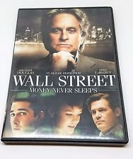 Wall Street: Money Never Sleeps (DVD, 2010)