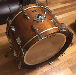 "VINTAGE 1970's / 80's TAMA SUPERSTAR 22"" X 14"" Bass Drum"