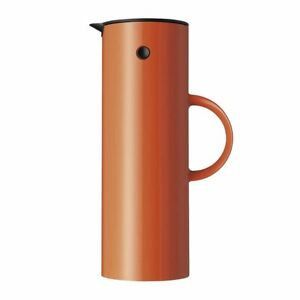 Stelton Isolierkanne EM77, orange/safran, 1 Liter