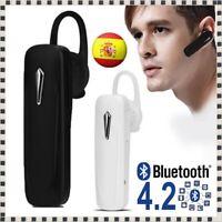 Auricular Manos Libres Bluetooth V4.2 Micrófono Móvil Auriculares MIC Pinganillo