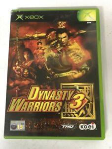 Dynasty Warriors 3 Original Microsoft Xbox Game FREE P&P