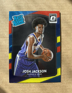 2017-18 Donruss Optic Josh Jackson RC Rated Rookie #197 🔥 RED YELLOW PARALLEL