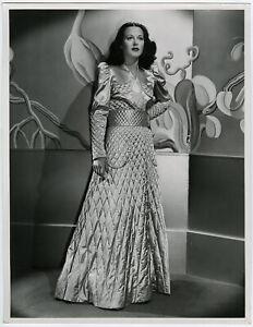 Beautiful Large Format Hedy Lamarr Original 1940 Laszlo Willinger Photograph