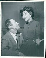 1962 Henry Fonda Anne Bancroft Two for the Seasaw Original New Service Photo