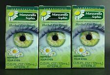 3 SOPHIA CHAMOMILE✅ Herbal Eye Drops / GOTAS SOPHIA MANZANILLA