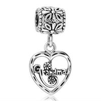Grandma Style European Hot Pendants 925 Silver Charms For Sterling Bead Bracelet