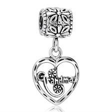 Grandma Style European Hot Pendants 925 Silver Charms For Sterling Bead Bracelet
