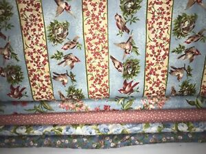 5 YARDS  Quilt Fabric Kit - Northcott Heaven can Wait & Heaven on Earth