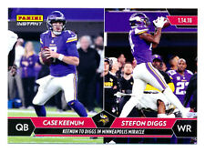 2017 PANINI INSTANT #435 KEENUM TO DIGGS MINNY MIRACLE VIKINGS RARE SP/398! QTY