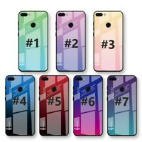Luxury Gradient 9H Hardness Tempered Glass Case Samsung s8/S8+Plus/S9/S9+Plus