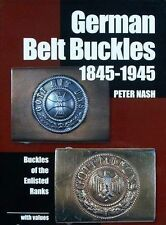 BOEK/BOOK : GERMAN BELT BUCKLE/RIEMGESP/DUITSE RIEM GESP/BOUCLE DE CEINTURE