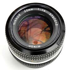 Nikon Nikkor 50mm f/1.4 AI Converted Man Focus Lens. Exc++++. See Test Images