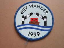 Wey Wander 1999 Walking Hiking Cloth Patch Badge (L3K)