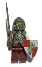 NEW LEGO Lion King Knight Castle Minifigure Figure Fig Medieval Sword Lot 83