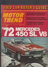 Motor Trend Magazine June 1971 Mercedes RVs Chevelle Torino Satellite