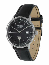 Runde Junkers Armbanduhren mit 12-Stunden-Zifferblatt