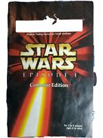 Monopoly Star Wars Episode 1 Collectors Edition 3-D Board game. Excellent shape