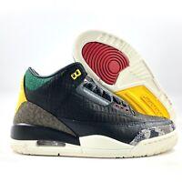 Nike Air Jordan 3 Retro SE Animal Instinct 2.0 Black White CV3583-003 Men's 4