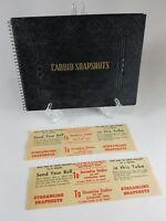 Antique Scrapbook Photograph Album Candid Snapshots Streamline Film Dev Envelope