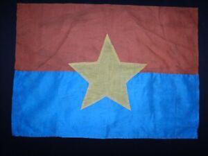 Vietnam War VC National Liberation Front (NLF) Battle Flag Vintage