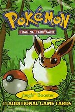 Original Pokemon Cards Rare- 1999 Jungle Set Wotc Vintage pack