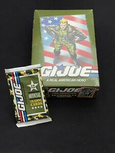 1 Unopened GI Joe Impel 1991 Trading Card Pack SERIES 1 *Possible Snakes Eyes SP