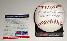 Juan Antonio Marichal signed OML baseball PSA/DNA T56240