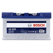 BOSCH S4 010 80Ah 740A 12V AUTOBATTERIE STARTERBATTERIE PKW-BATTERIE 31835311