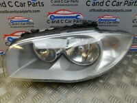 BMW 1 Series Headlight Halogen NS Left E87 6924487 23/10