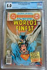 Worlds Finest Comics #258 CGC graded 5.0 VG/FN 1979 Bronze Age DC Comics Batman