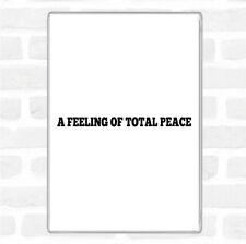 Total de la paix CITE jumbo aimant de réfrigérateur