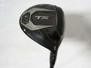 Used Titleist TS2 16.5* 3 Wood Fairway Mitsubishi Kuro Kage 55 Regular Flex R